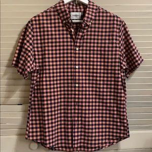 Goodfellow & Co Short Sleeve Casual Button Up NWT